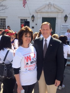 Casey with Senator Richard Blumenthal