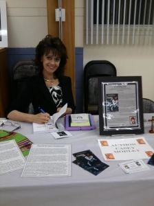 casey book signing