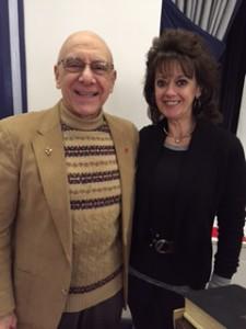 Casey with Dr. Bernie Siegel